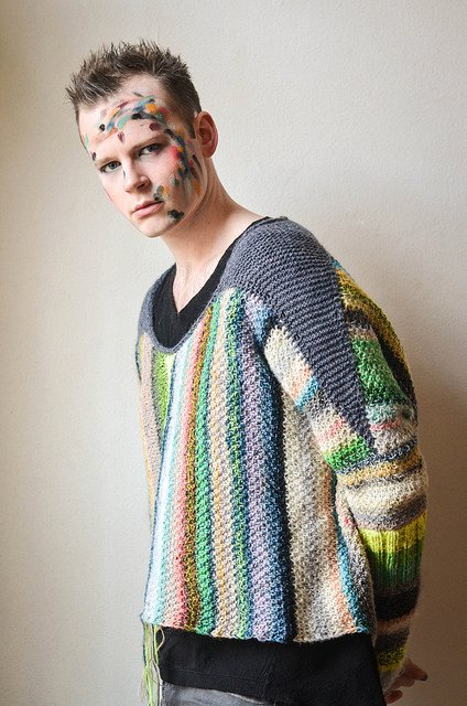 Amazing Technicolor Sweater by Westknits