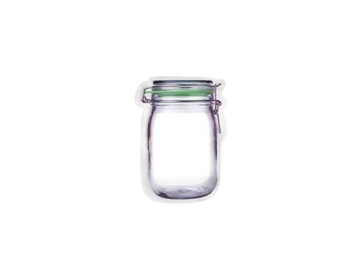 Jar Zipper Bag