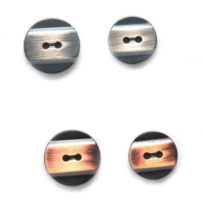 Round Band Metal Button
