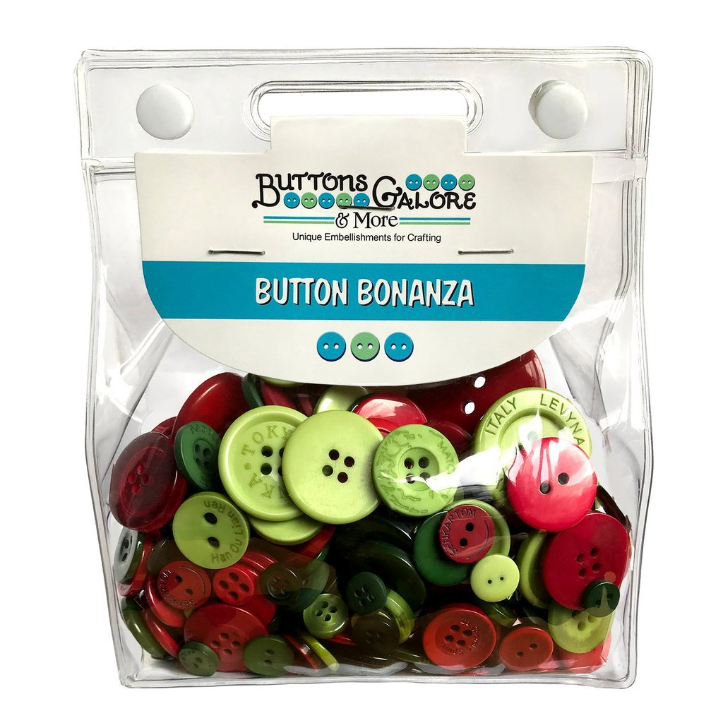 Button Bonanza 1/2 pound pack of crafting buttons
