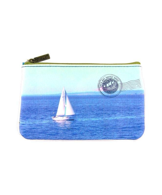 Mlavi Small Pouch - Boat & Whale