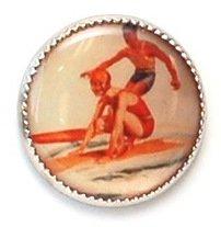 Vintage Surfers Buttons