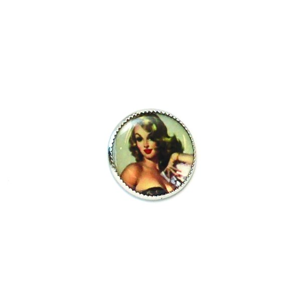 40's Pinup Picture Button