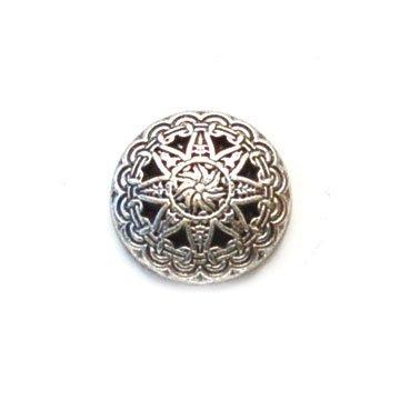 Biz Star Metal Button