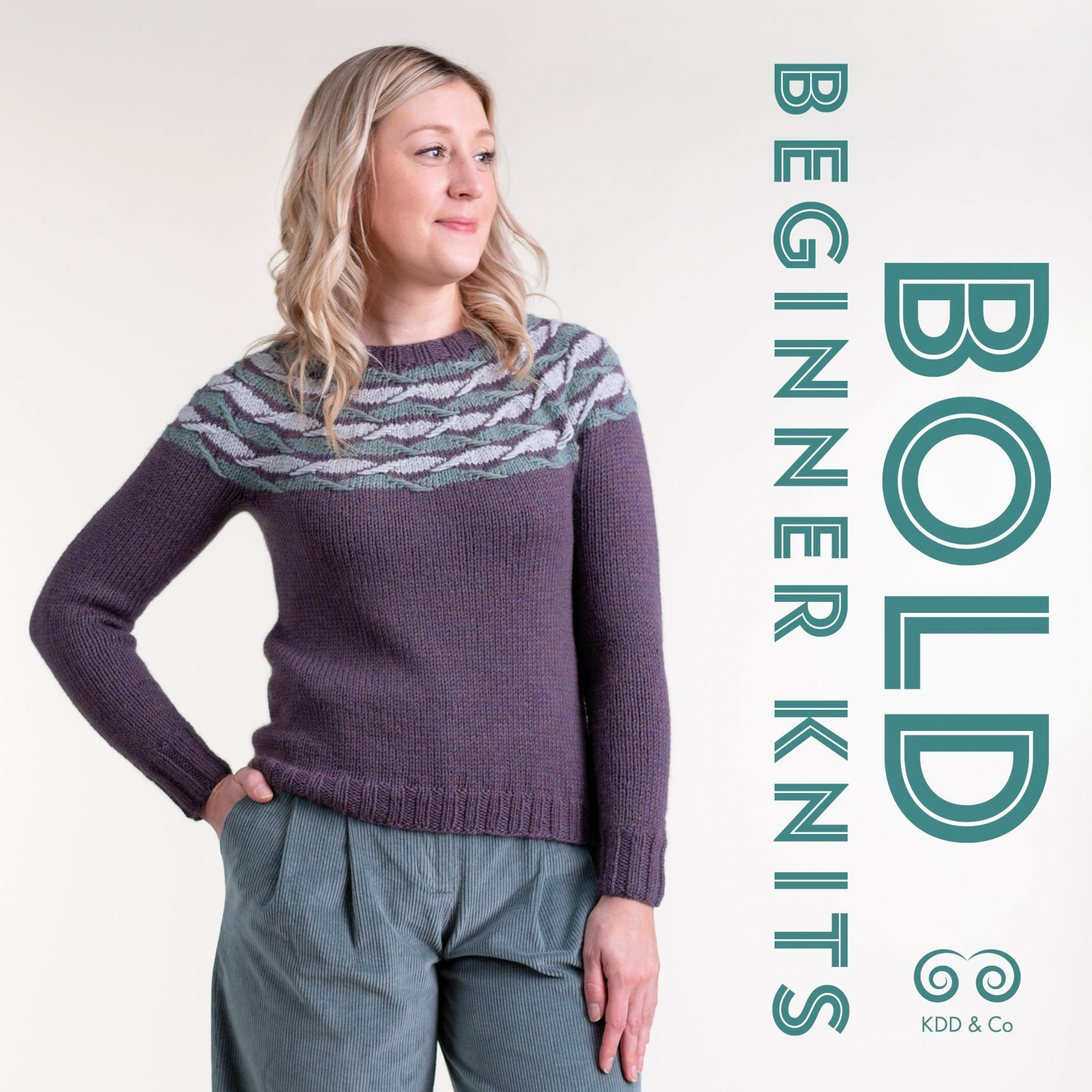 Bold Beginner Knits  by Kate Davies