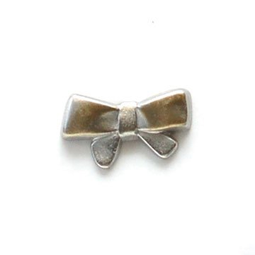Bow Metal Button