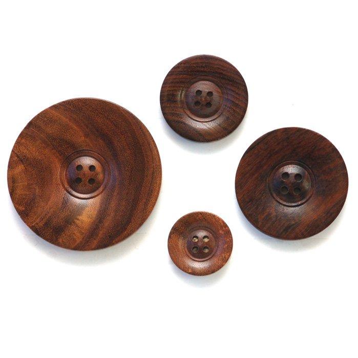 Dark Wood Button