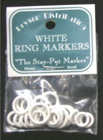 Bryson Small White Ring Markers - Mixed