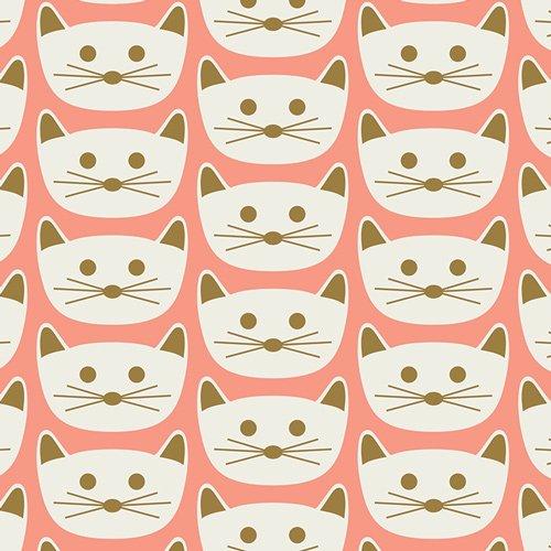 Cat Nap fabric by Dana Willard for AGF