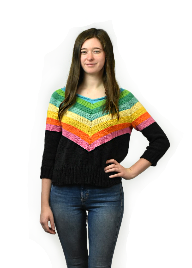 Camaro Sweater Pattern by Tanis Lavallee