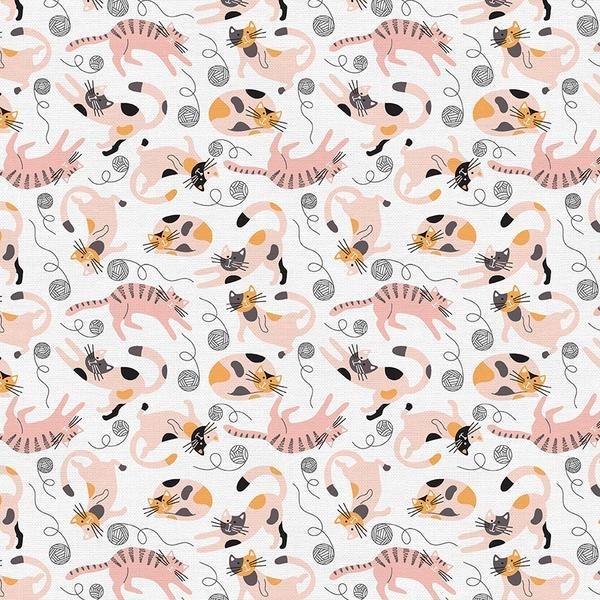 Cats on White  - Paintbrush Studios