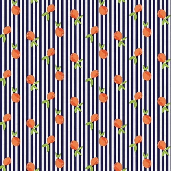 Citrus Stripes - Paintbrush Studios
