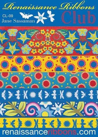 Renaissance Ribbon Pack - CL-09 Jane Sassaman - Ribbon Lovers