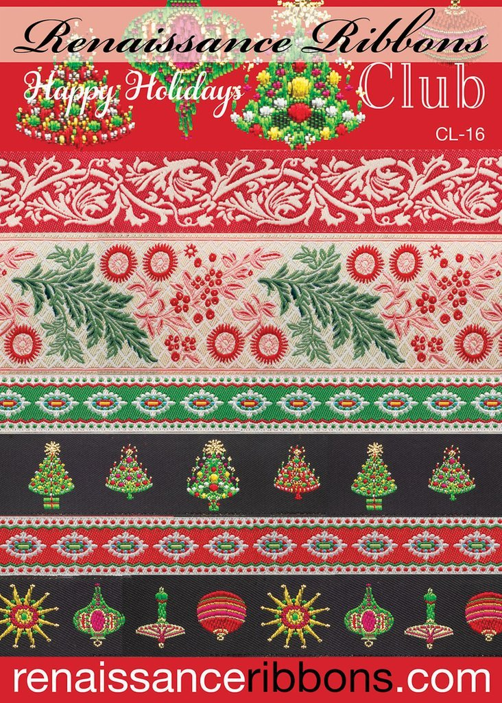 Renaissance Ribbon Pack - Holiday Pack CL-16