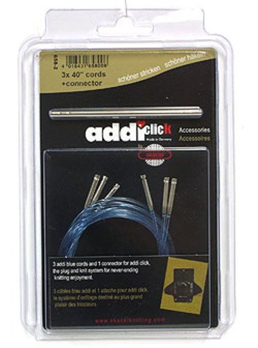 addi Click Turbo Cord 3-Pack w/Connector - 40inch