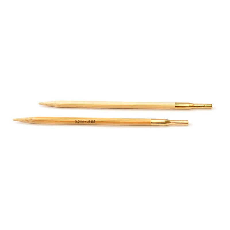 addiClick Bamboo Interchangeable Needle Tips (Pair)