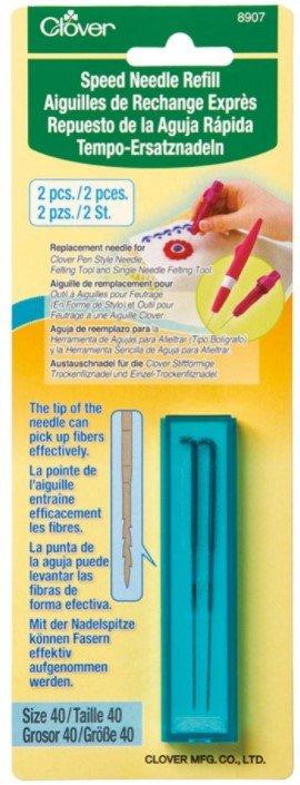 Clover Felting Needle Refill - 40 Gauge