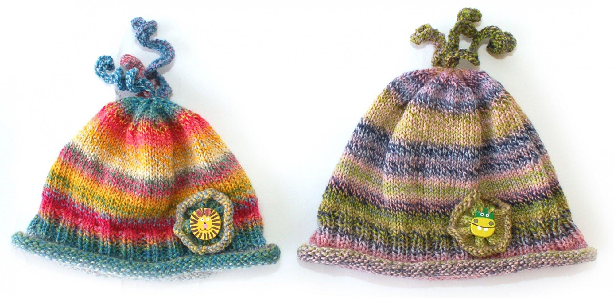 Corkscrew Baby Hat Kit