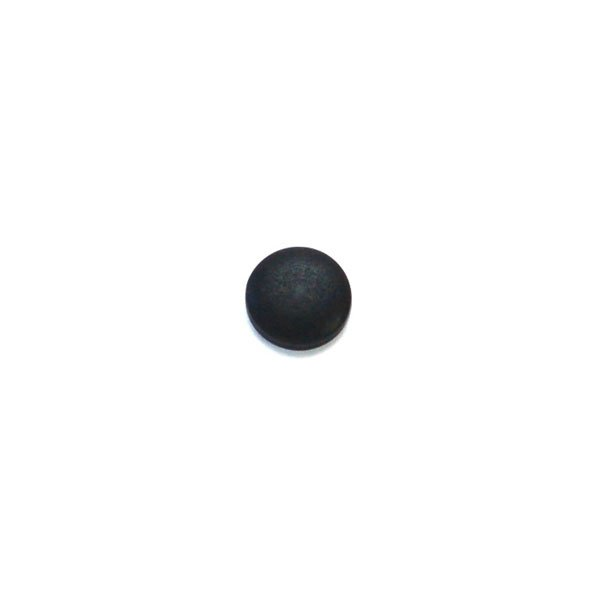 Black Dome Velvet Corozo Buttons