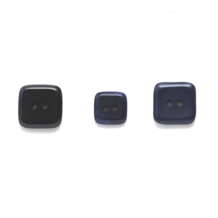 Square Corozo Buttons
