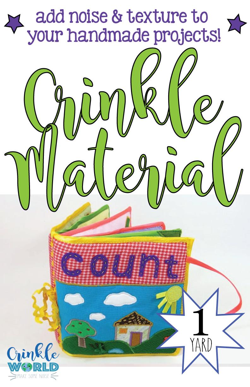 Crinkle Material - 1 yard