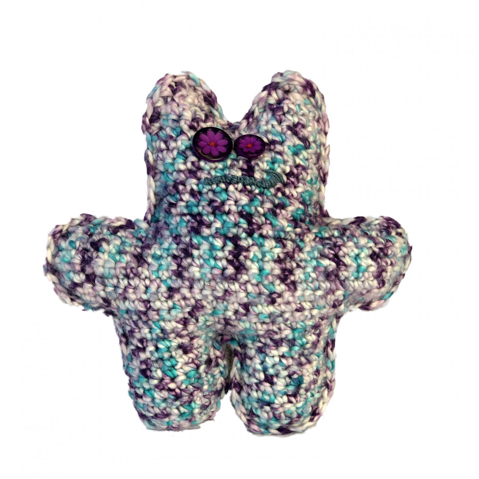 Monster Along - Knit and Crochet patterns  - free .pdf pattern download