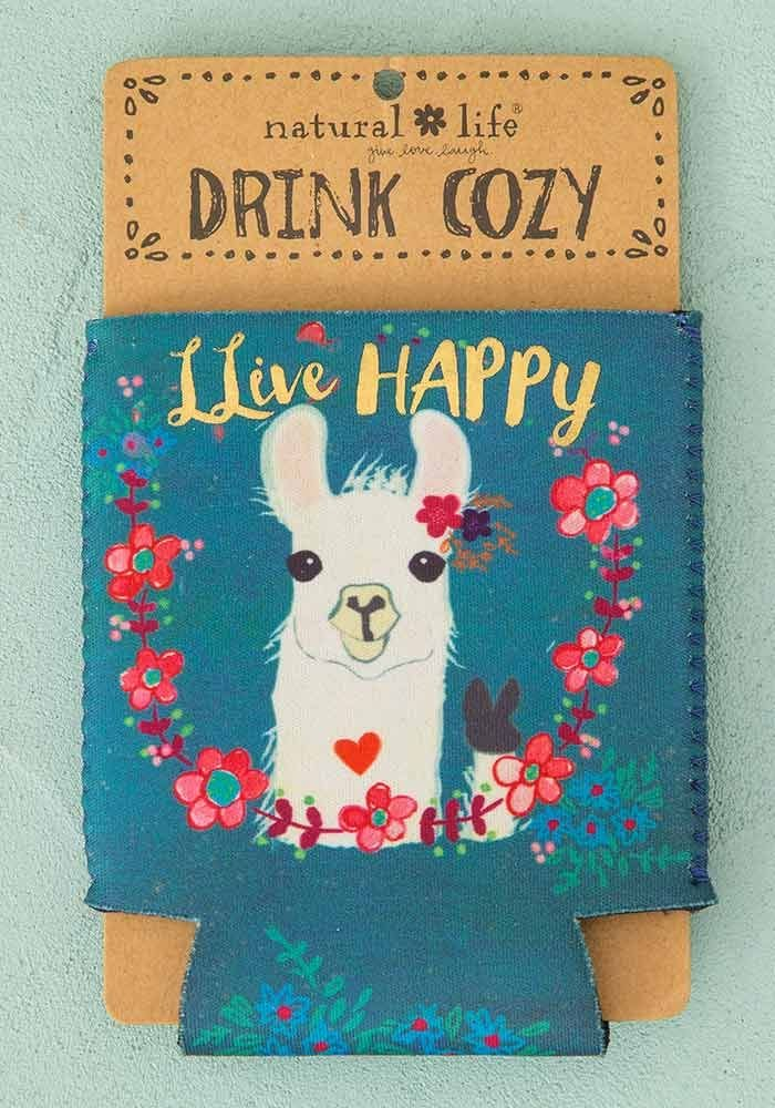 Llive Happy Llama Drink Cozy