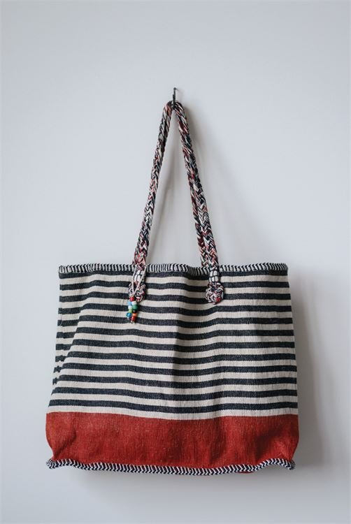 Jute and Cotton cargo bag
