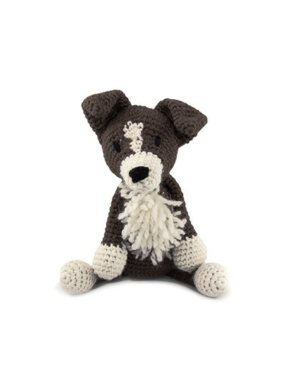 Daisy the Border Collie Crochet Kit - Toft UK