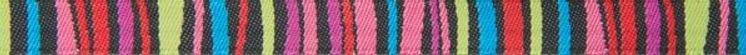Dark Fanciful Stripes - Renaissance Ribbons