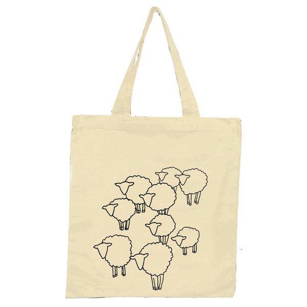 Diagonal Sheep Herd Tote