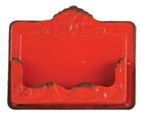 Distressed Metal Card Holder
