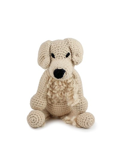 Don the Golden Retriever Crochet Kit - Toft UK