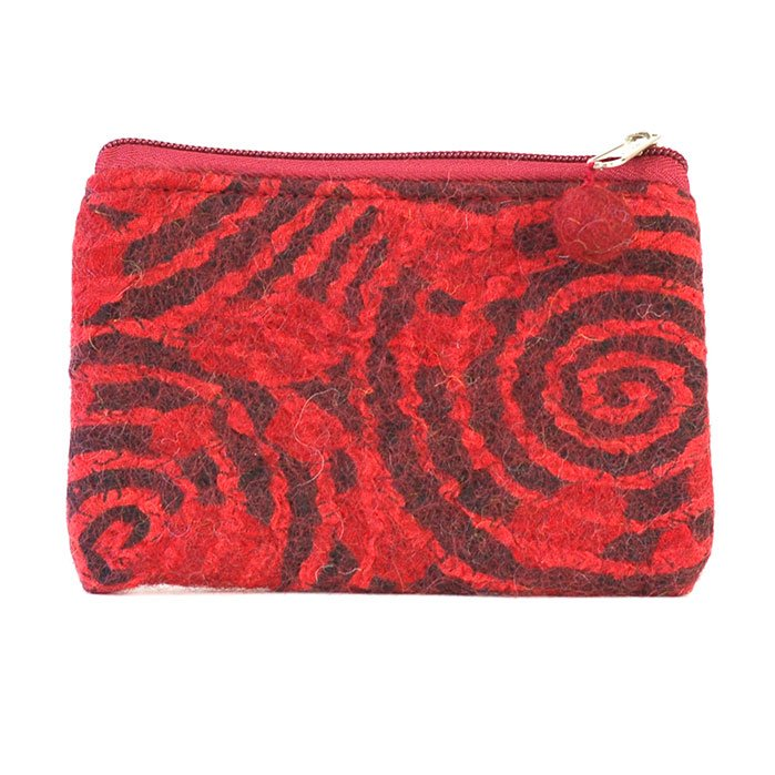 Felt Swirl Bag