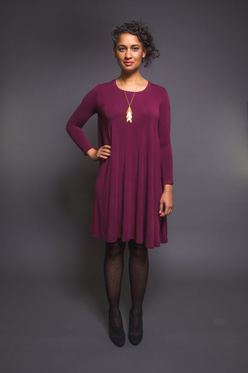 Ebony Knit Dress & T-Shirt Pattern