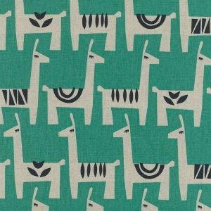 Alpacas by Ellen Baker for Kokka