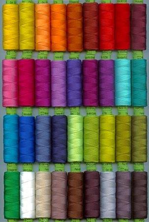Eleganza #5 Solid and Multi Perle Cotton Thread - Sue Spargo