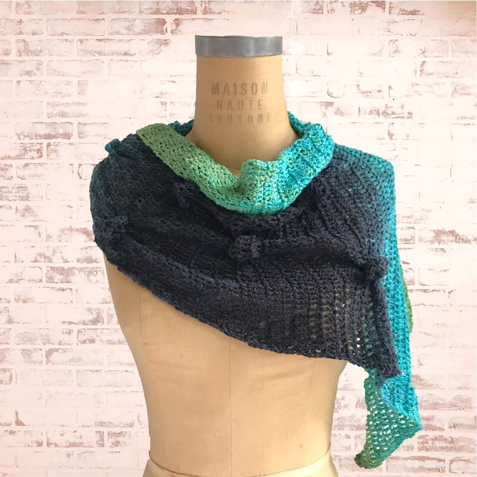 End of Summer Scarf - free .pdf pattern download