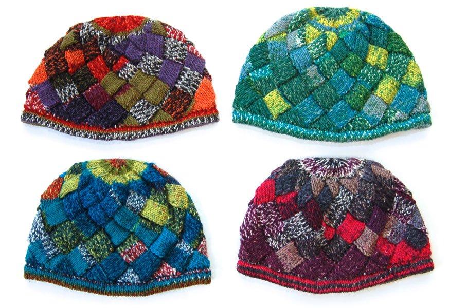 Entrelac Hat d69b0f0b4d6