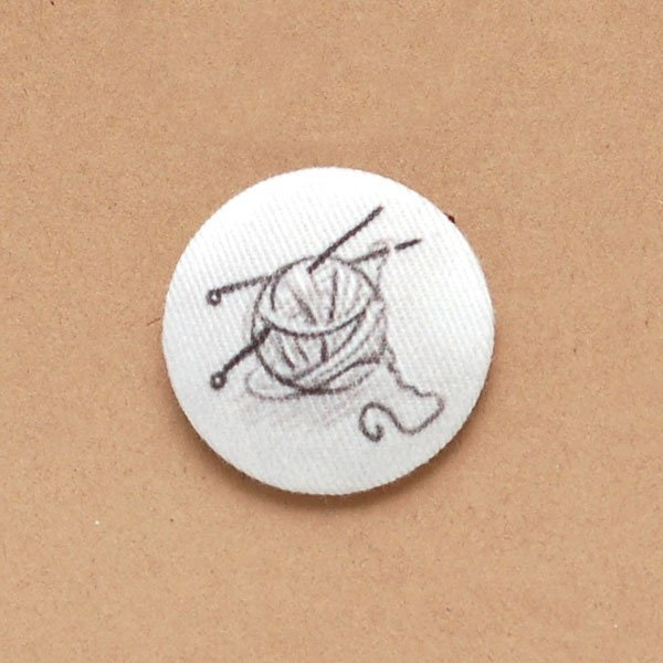 Crafting Fabric Buttons