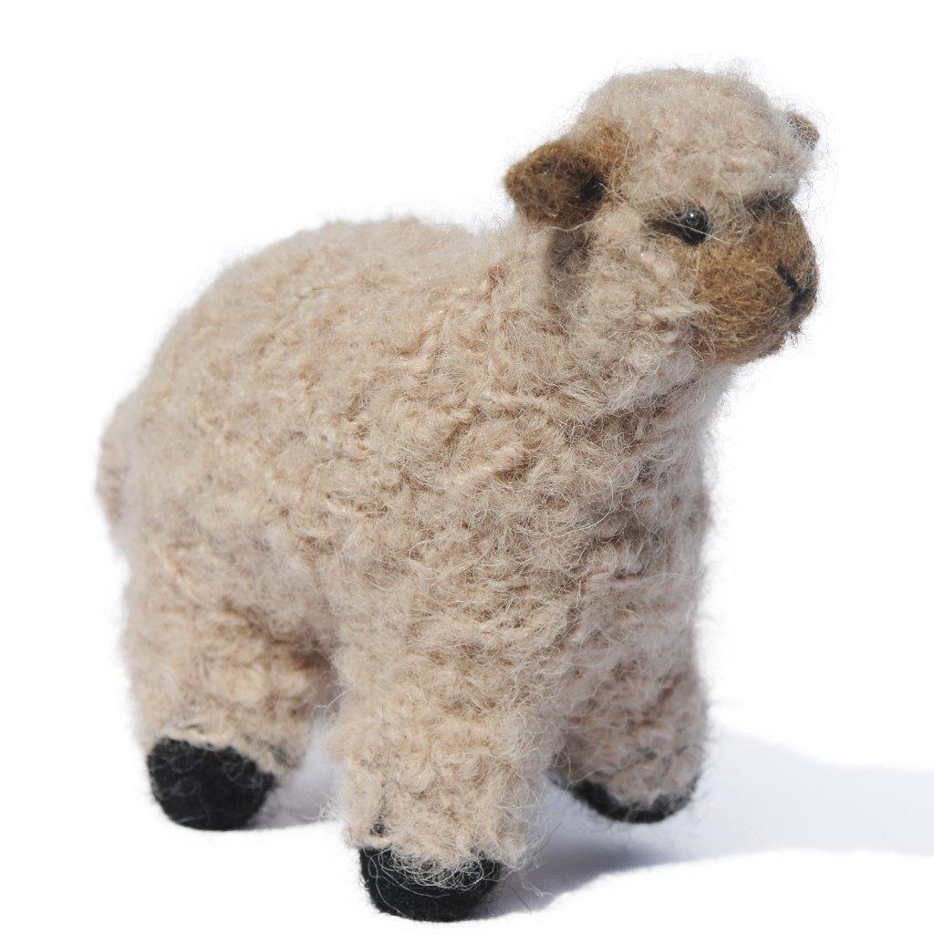 Boucle Lamb Sculpture