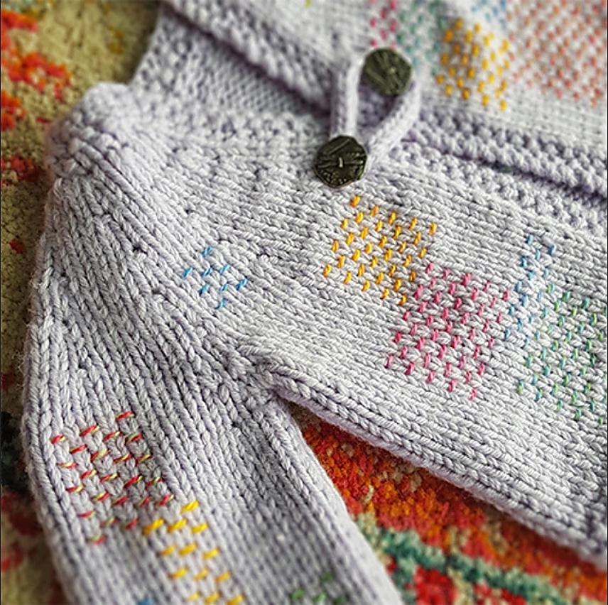 5-Hour Baby Jacket - free .pdf pattern download