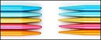 addi FlipStix Double Point Knitting Needles - 6 or 8 US 0-11