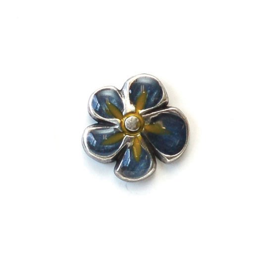 Enamel Flower Petal Buttons