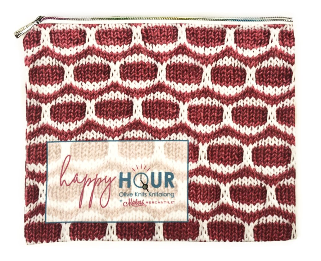 Happy Hour Notions Bag