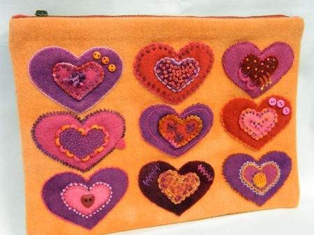 Sue Spargo Bag Pattern - Heart To Heart