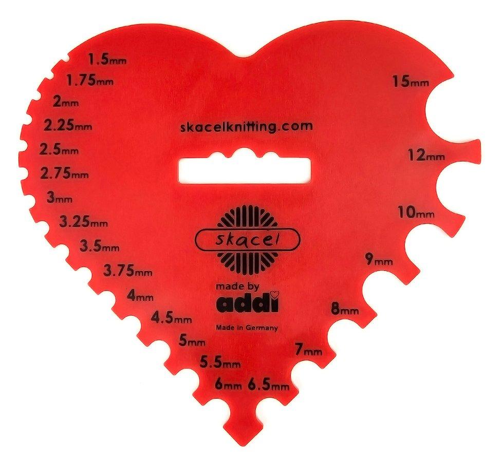 Heart Needle Gauge