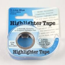 Lee Highlighter Tape