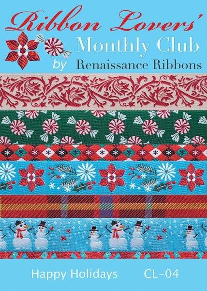 Renaissance Ribbon Pack - Happy Holidays CL-04