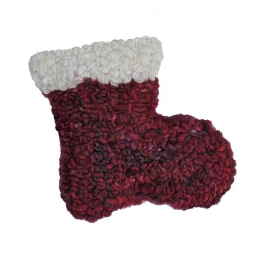 Fiberhooking Kit - Holiday Stocking